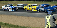 Kiwi muscle cars racing at the Australian Muscle Car Masters